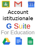 Account GSuite per Studenti